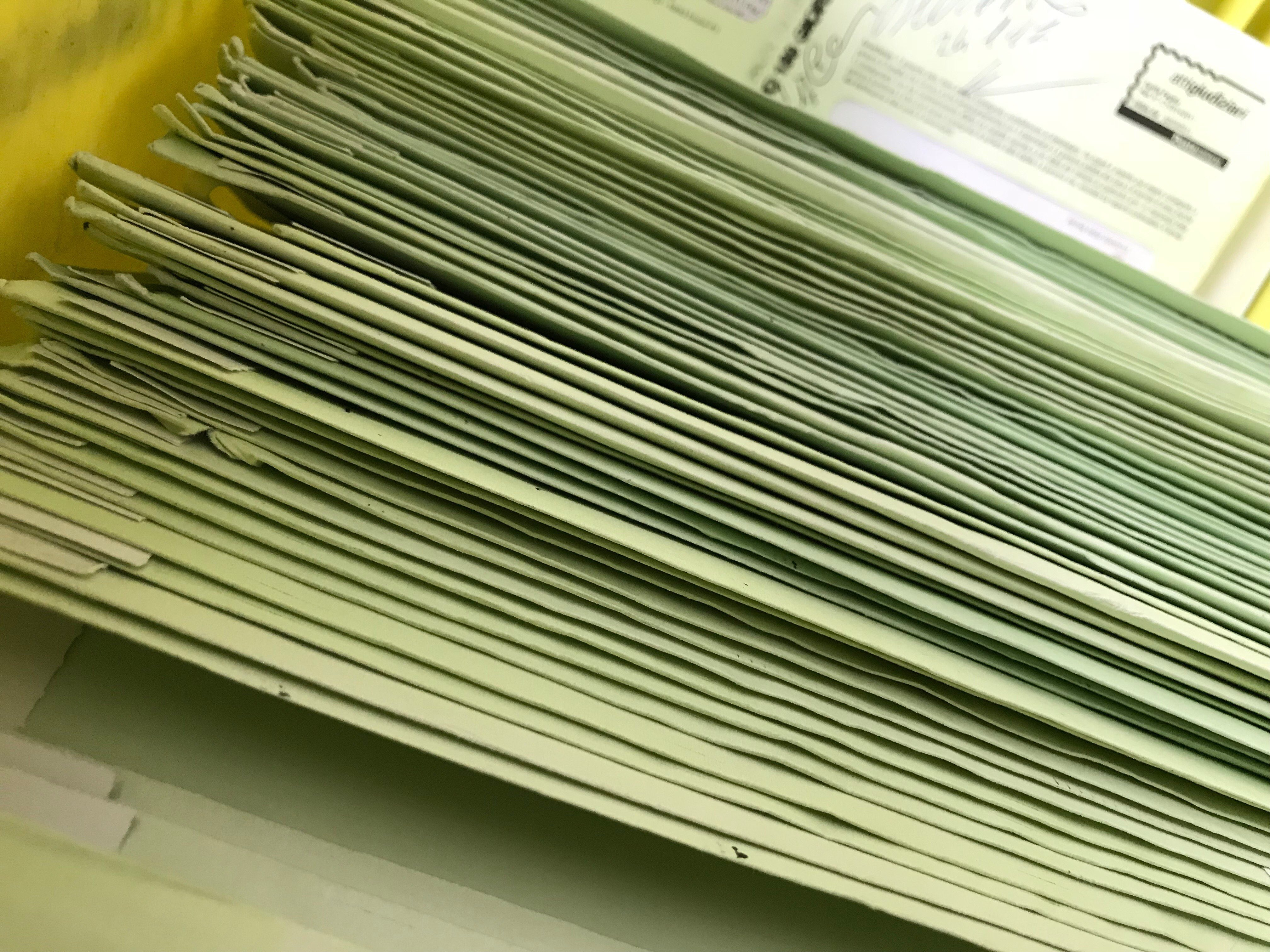 Stampa, Imbustamento, Postalizzazione